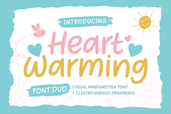Print on Demand: Heart Warming Script & Handwritten Font By Situjuh - Image 1
