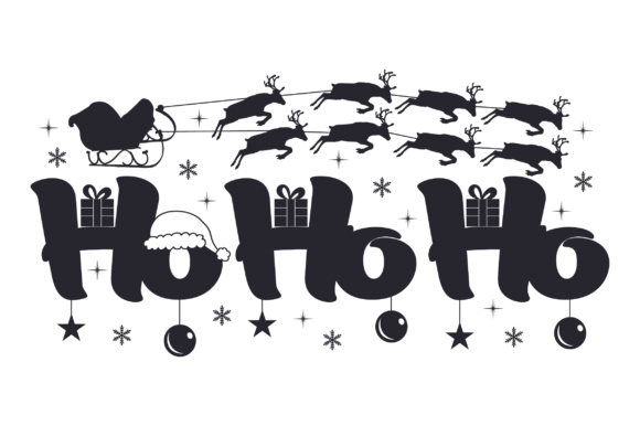 Download Free Ho Ho Ho Svg Cut File By Creative Fabrica Crafts Creative Fabrica for Cricut Explore, Silhouette and other cutting machines.