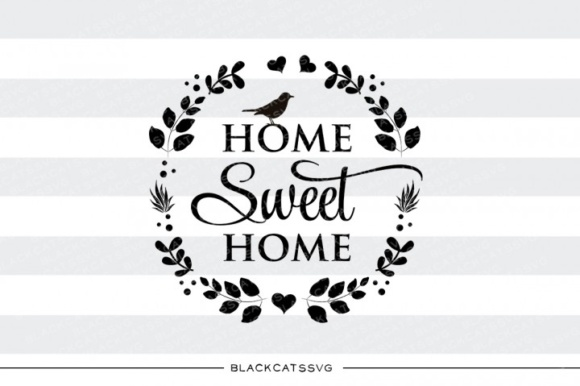 Bird Home Sweet Home Graphic Crafts By BlackCatsMedia