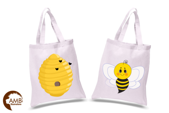 Honey Bee Clipart Graphic Illustrations By AMBillustrations - Image 2