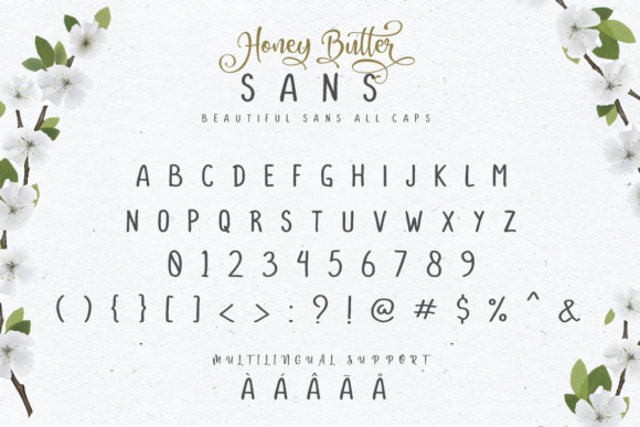 Print on Demand: Honey Butter Trio Script & Handwritten Font By Lettersiro Co. - Image 16
