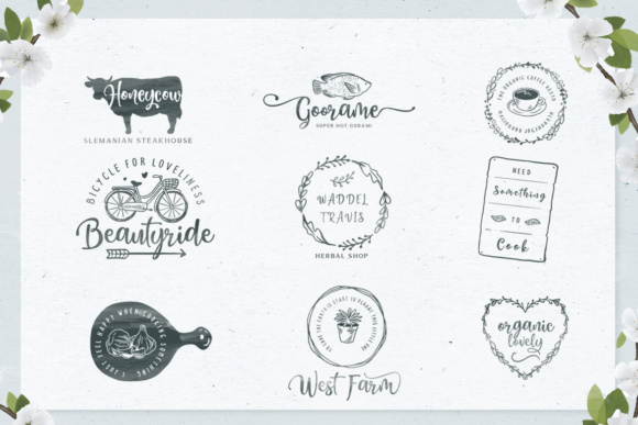 Honey Butter Trio Font By Lettersiro Co. Image 4