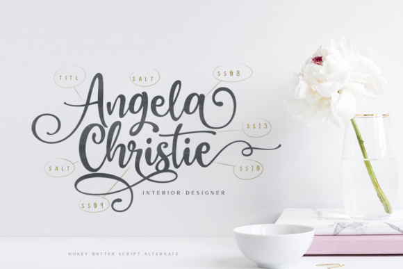 Print on Demand: Honey Butter Trio Script & Handwritten Font By Lettersiro Co. - Image 8