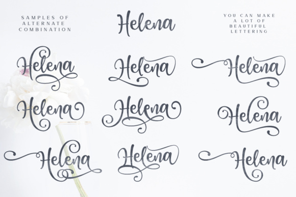 Print on Demand: Honey Butter Trio Script & Handwritten Font By Lettersiro Co. - Image 9