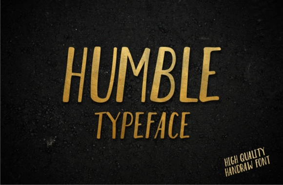 Print on Demand: Humble Script & Handwritten Font By Goodware.Std