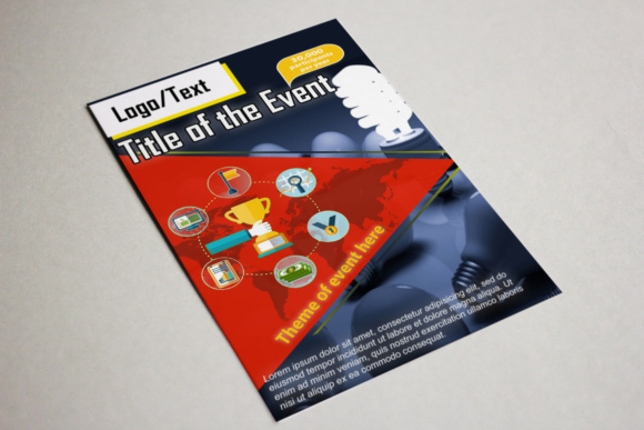 Print on Demand: Idea's Event Flyer Graphic Print Templates By Dawn Studio - Image 1