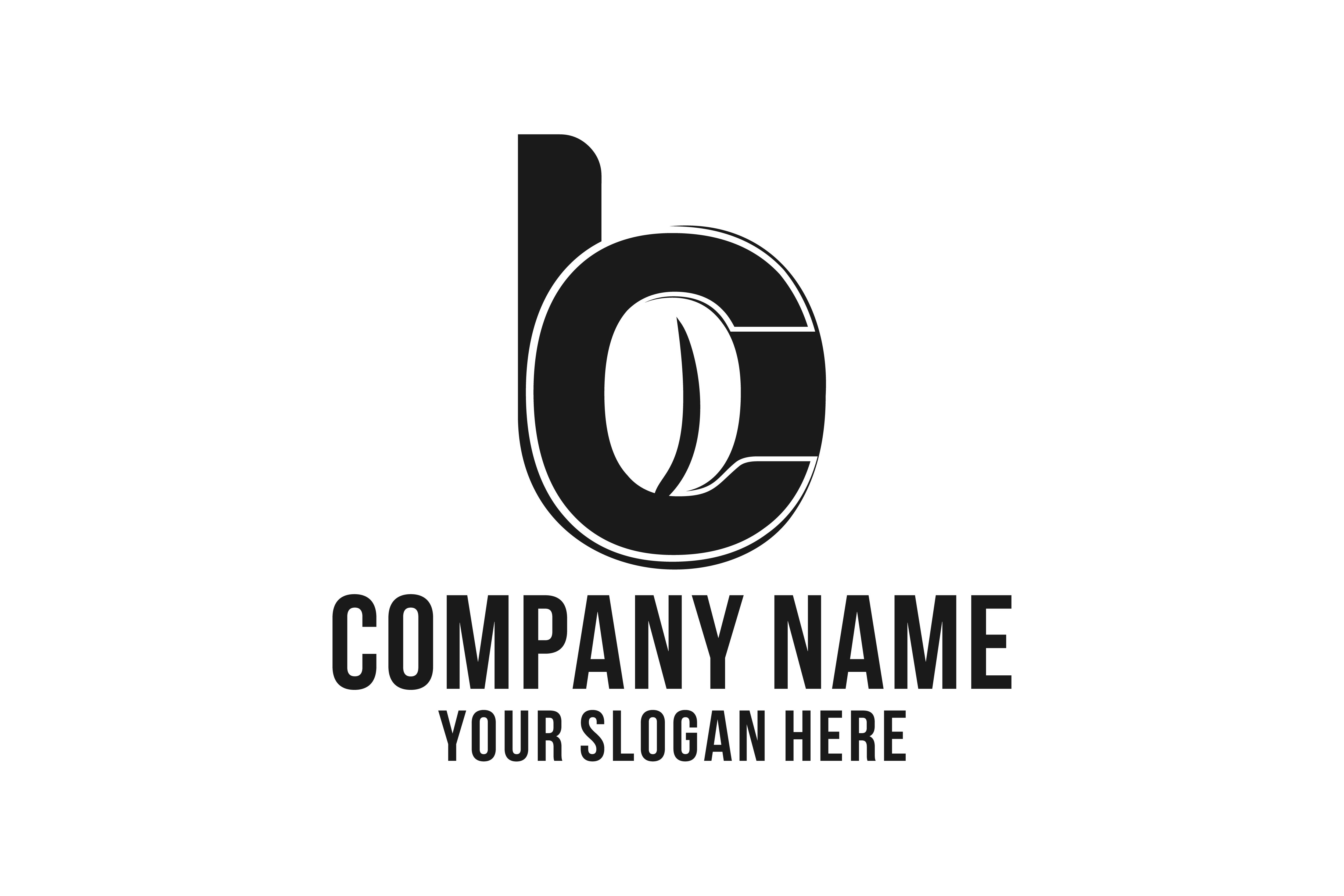 Download Free Initial B C For Coffee Bean Shop Logo Graphic By for Cricut Explore, Silhouette and other cutting machines.