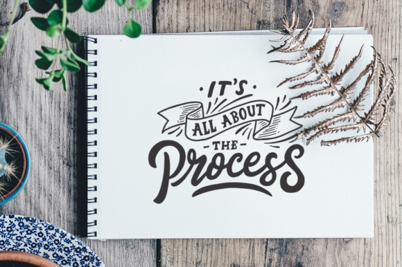 Inspirational Quotes Lettering Graphic Crafts By Weape Design - Image 2