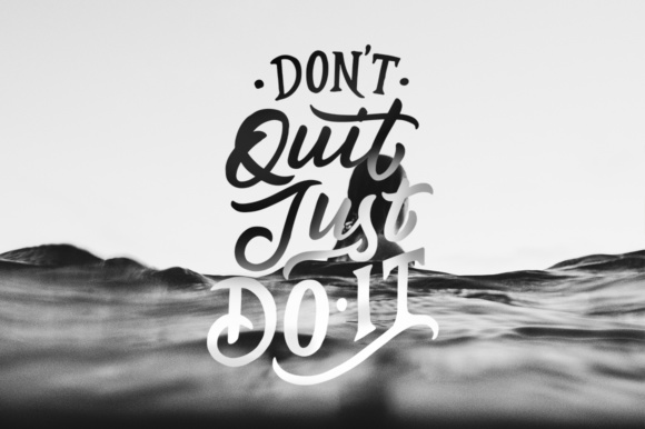 Inspirational Quotes Lettering Graphic Crafts By Weape Design - Image 4
