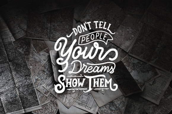 Inspirational Quotes Lettering Graphic Crafts By Weape Design - Image 5