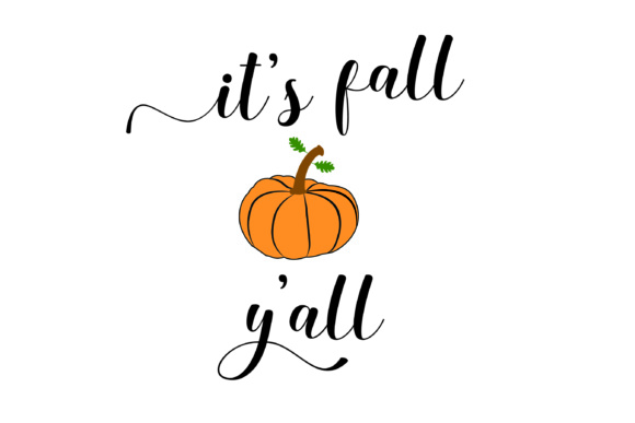 It S Fall Y All 7 Elements Svg Cut Files Graphic By Bluestar