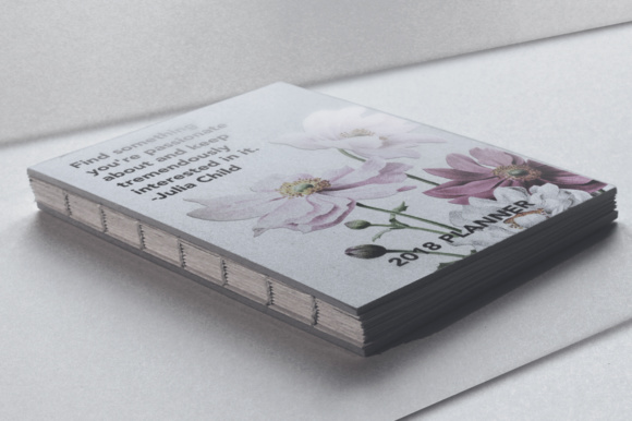 Japanese Anemone Watercolor Graphic Preview