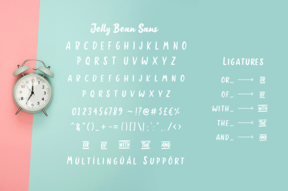 Jelly Bean Font By Weape Design Image 11
