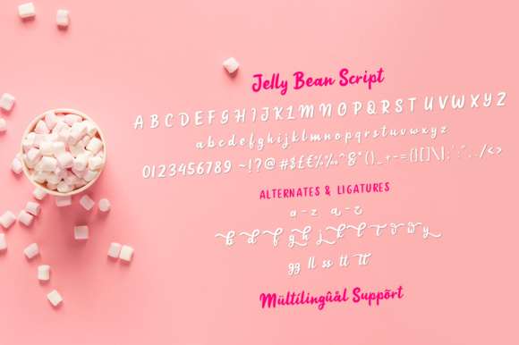 Jelly Bean Font By Weape Design Image 9
