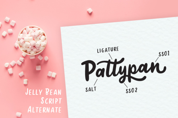 Jelly Bean Font By Weape Design Image 10