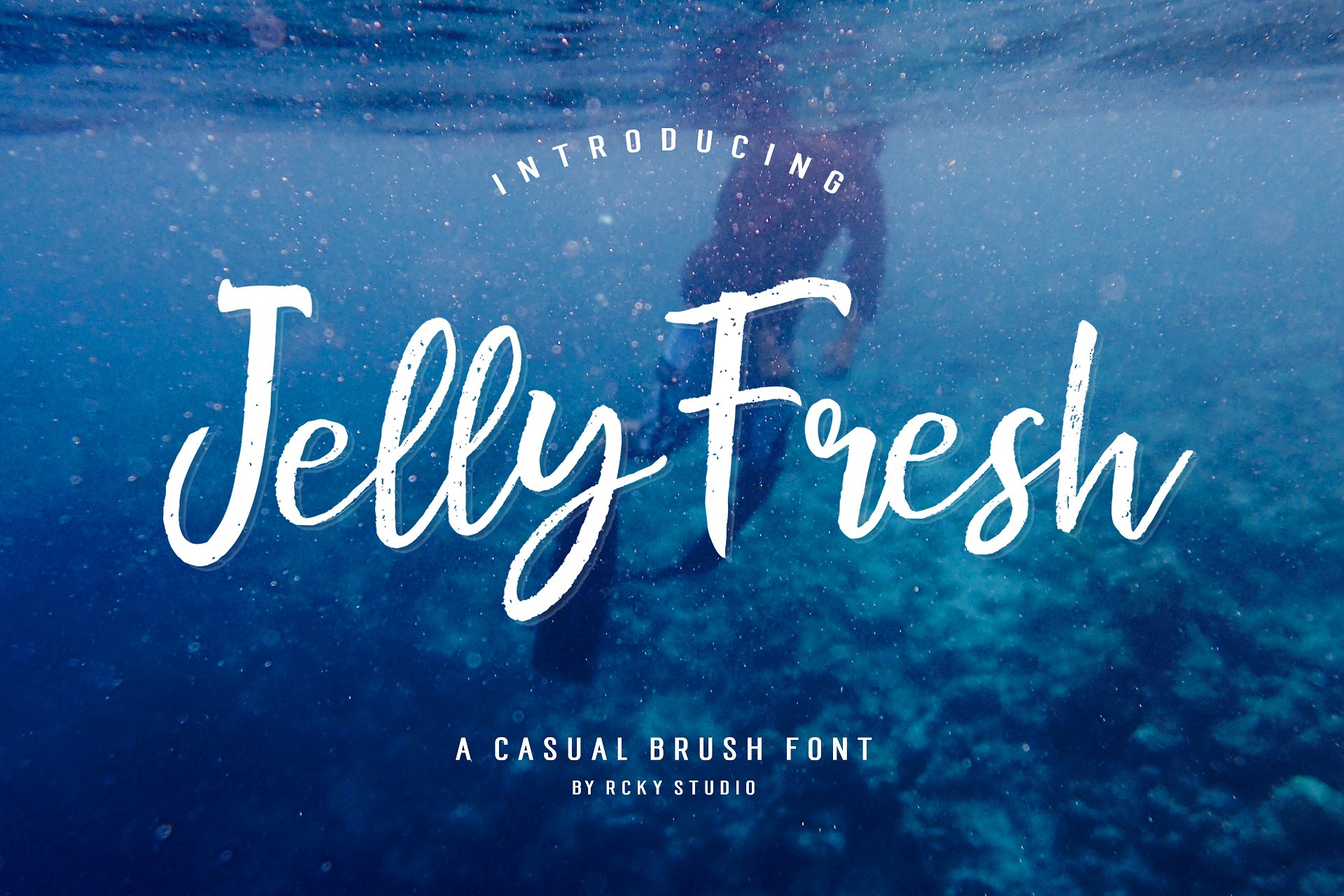 Download Free Jelly Fresh Font By Rckystudio Creative Fabrica for Cricut Explore, Silhouette and other cutting machines.