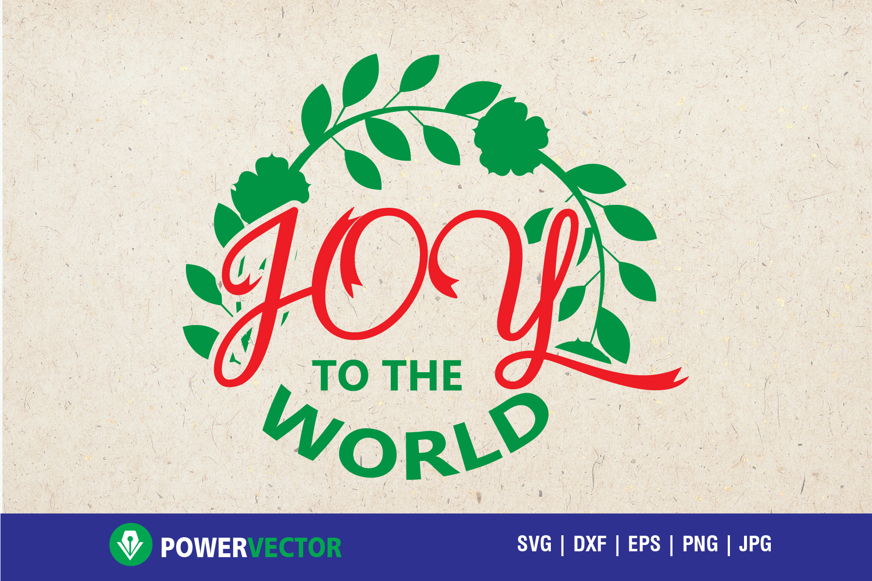 Download Free Joy To The World Svg Cutting File Graphic By Powervector for Cricut Explore, Silhouette and other cutting machines.