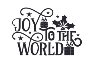 Joy to the World Gifts Christmas Craft Cut File By Creative Fabrica Crafts 2