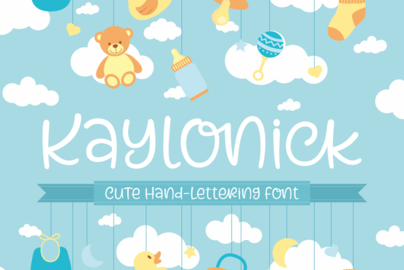 Print on Demand: Kaylonick Script & Handwritten Font By Situjuh