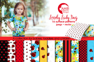 Ladybug Papers Graphic Patterns By AMBillustrations