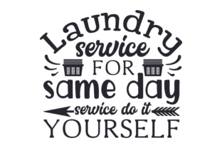 Laundry Service - for Same Day Service Do It Yourself Craft Design By Creative Fabrica Crafts