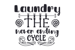 Laundry, the Never Ending Cycle Craft Design By Creative Fabrica Crafts