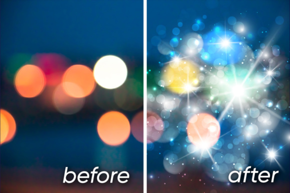 Lens Flare, Rays, Star and Sparkles Graphic Objects By Yurlick - Image 2