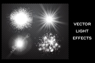 Lens Flare, Rays, Star and Sparkles Graphic By Yurlick
