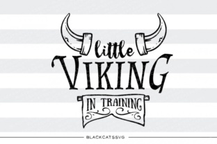 Little Viking in Training Svg Graphic By sssilent_rage