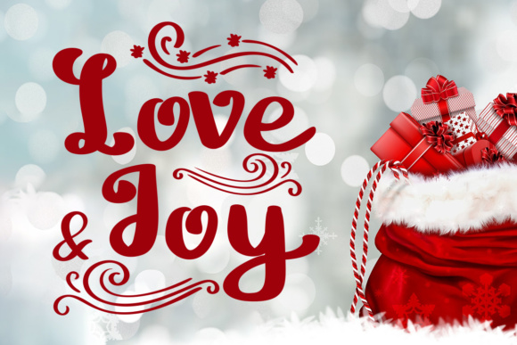 Download Free Love And Joy Font By Lickable Pixels Creative Fabrica for Cricut Explore, Silhouette and other cutting machines.