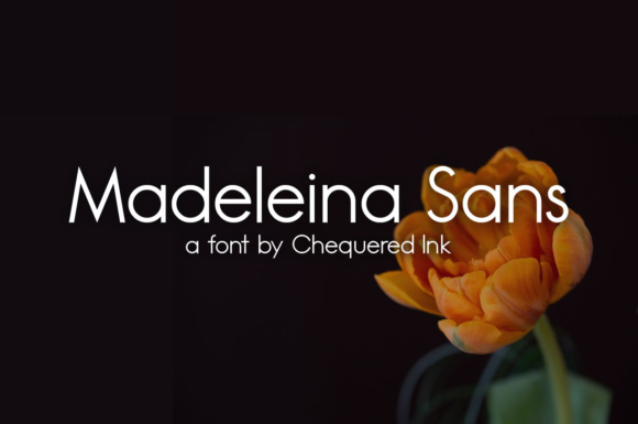 Print on Demand: Madeleina Sans Serif Font By Chequered Ink