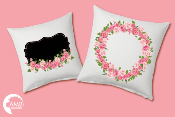 Roses and Frames AMB Graphic Illustrations By AMBillustrations - Image 3