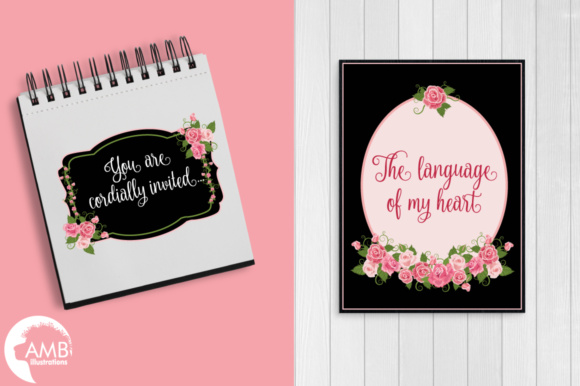 Roses and Frames AMB Graphic Illustrations By AMBillustrations - Image 6