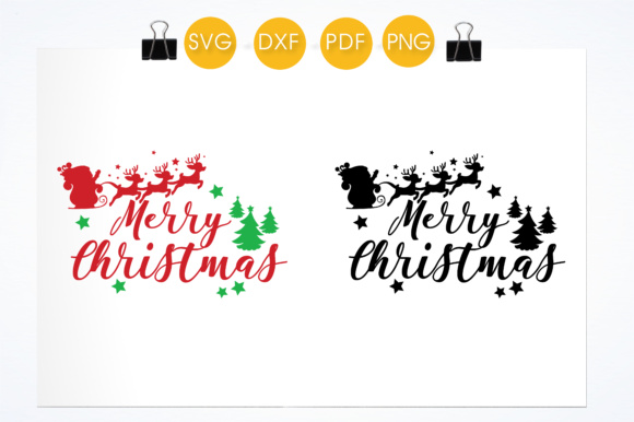 Merry Christmas Quote Graphic Download