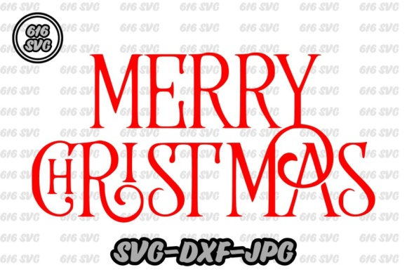 Merry Christmas SVG Graphic By 616SVG
