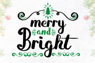 Print on Demand: Merry and Bright Script & Handwritten Font By Lickable Pixels