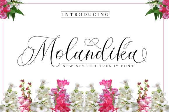 Print on Demand: Molandika Script & Handwritten Font By Great Studio