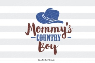 Mommy's Country Boy Graphic By sssilent_rage
