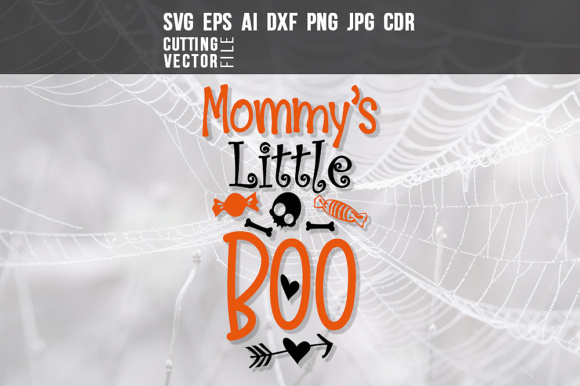 Mommy's Little Boo Graphic Crafts By danieladoychinovashop