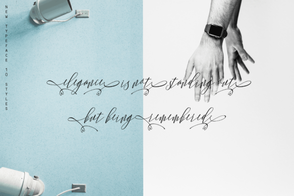 Monica Family Font By Rt Creative Image 8