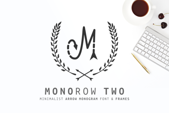 Print on Demand: Monorow Two Display Font By Dani (7NTypes)