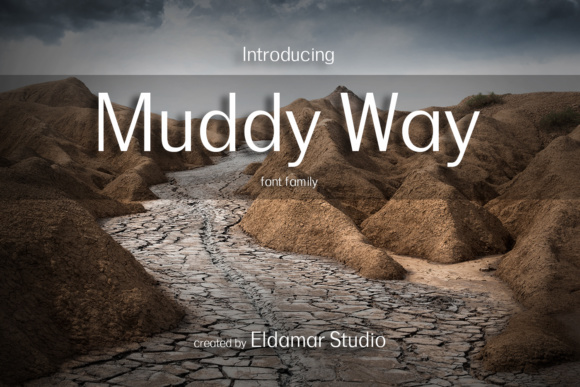 Print on Demand: Muddy Way Serif Font By Eldamar Studio Fonts