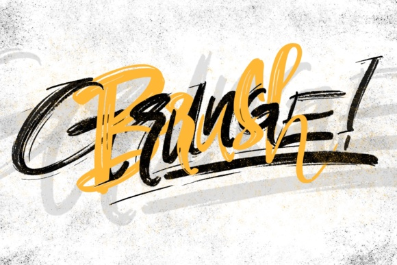 Print on Demand: Nine6brush Procreate Lettering Brushes Graphic Brushes By DK Project - Image 6