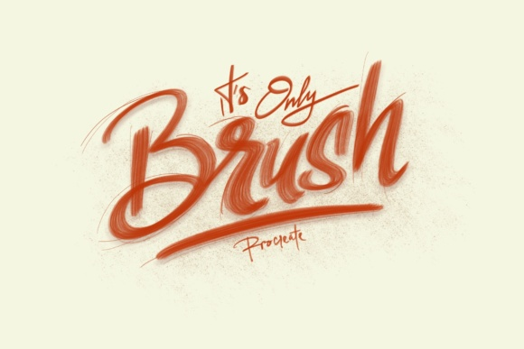 Print on Demand: Nine6brush Procreate Lettering Brushes Graphic Brushes By DK Project - Image 5