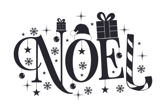 Noel Christmas Craft Cut File By Creative Fabrica Crafts - Image 2
