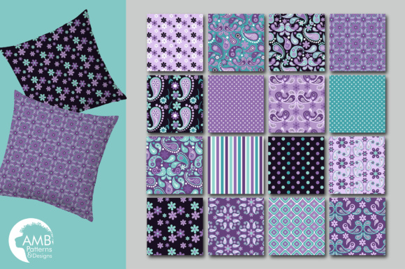 Paisley Papers Graphic Patterns By AMBillustrations - Image 3