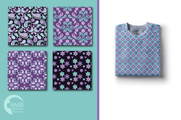 Paisley Papers Graphic Patterns By AMBillustrations - Image 4
