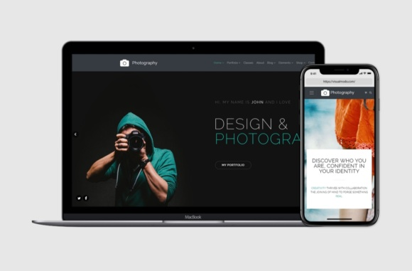 Photography - Responsive WordPress Theme