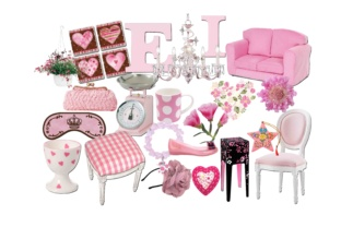 Pink Fashion Clipart Graphic By retrowalldecor