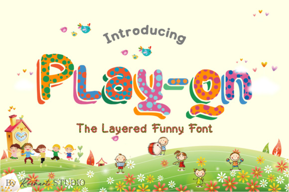 Print on Demand: Play on Dingbats Font By RochArt